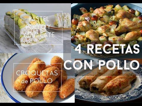 5 RECETAS CON POLLO FÁCILES, RÁPIDAS Y ECONÓMICAS