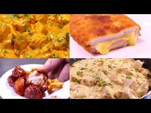 5 recetas de pechugas de POLLO que no puedes perderte + vuestros platos