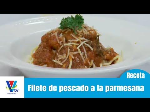 Cocina rápida: Filete de pescado a la parmesana