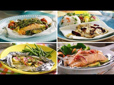 4 recetas de pescado empapelado