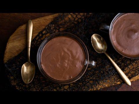 """""""La Receta de Pudín de Chocolate"""" """"Deliciosos Postres Recetas"""""""
