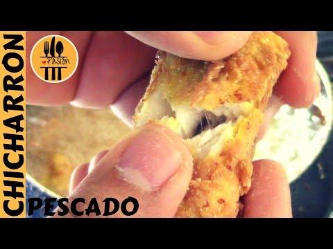 CHICHARRON DE PESCADO Casero – Receta Rápida