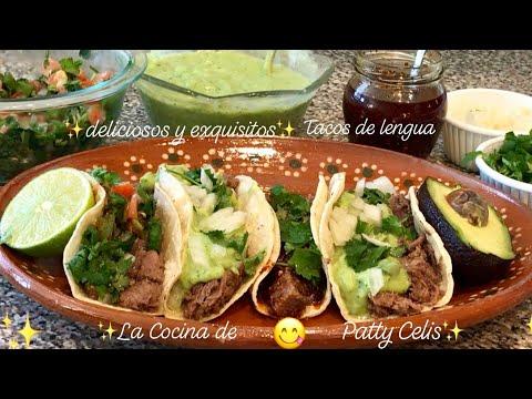 Lengua de res | para tacos | burritos y demás deliciosa y exquisita receta fácil de preparar