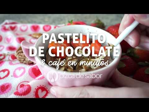 PASTELITO DE CHOCOLATE & CAFÉ EN MINUTOS – Recetas fáciles Pizca de Sabor