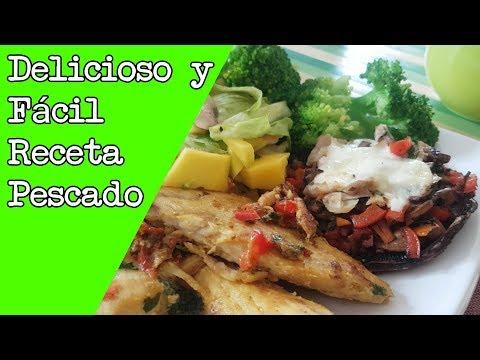 Deliciosa Receta de Pescado FÁCIL DE PREPARAR – Adicto Al Fitness