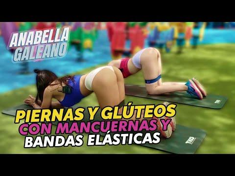 Piernas y Glúteos con Mancuernas y Bandas Elásticas – Anabella Galeano