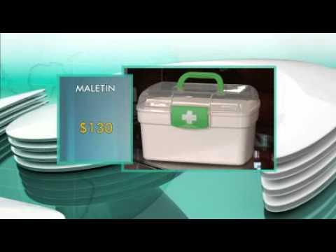 Botiquín obligatorio de primeros auxilios para autos cuesta $ 839