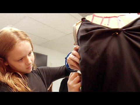 Conoce a estas pequeñas diseñadoras, ¡que ya se hacen su propia ropa!