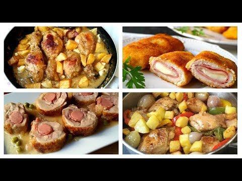 4 recetas de pollo fáciles para lucirte