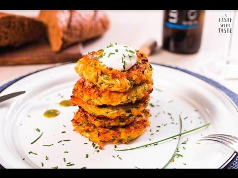 Tortitas de verduras ralladas – Receta fácil de cocinar