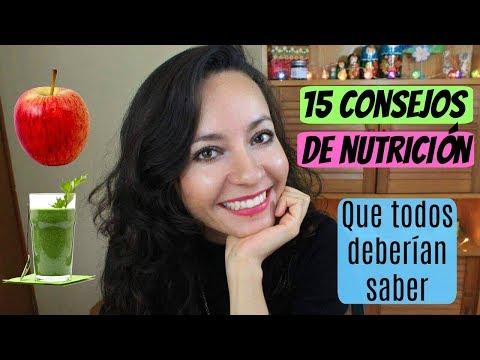 15 Consejos de nutrición que todos deberían saber
