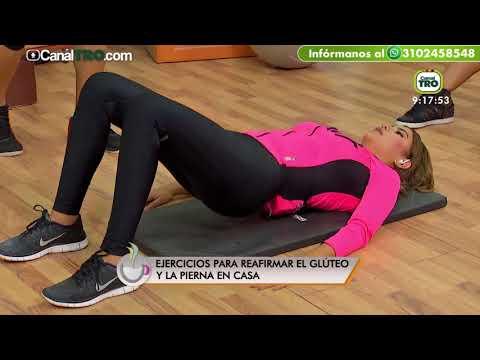 Ejercicios para reafirmar glúteos y piernas