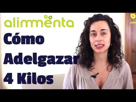 Dieta Para Adelgazar 4 Kilos De Forma Natural