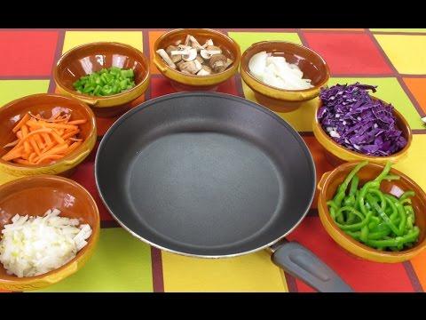 ⭐ Como saltear verduras | Trucos para hacer un salteado de verduras ⭐