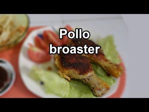 POLLO BROASTER EN OLLA PRESION + RECETAS POLLO FRITO