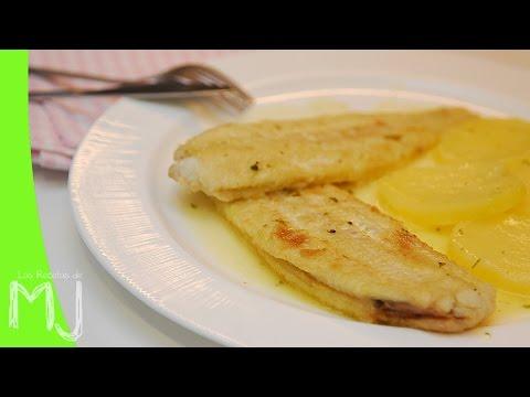 LENGUADO MEUNIÈRE | Receta tradicional de pescado