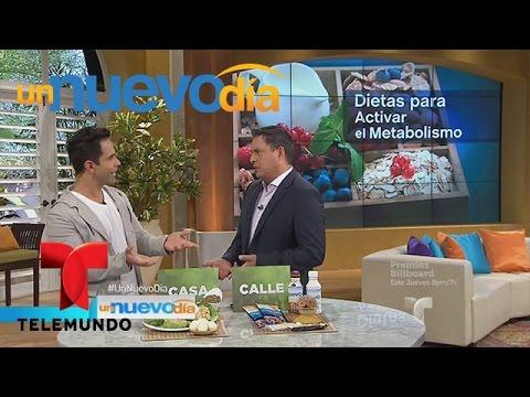 José Fernández te trae dietas para activar el metabolismo | Un Nuevo Día | Telemundo