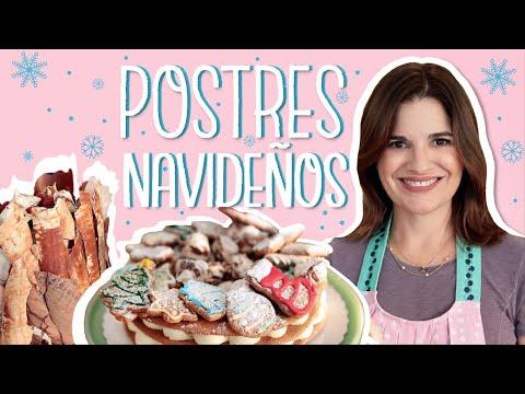 2 POSTRES para NAVIDAD! Recetas Faciles I Ana Avellana