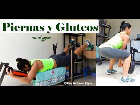 EJERCICIOS PARA PIERNAS Y GLUTEOS – En el Gym – Rutina 443 – AUMENTAR PIERNAS –  Dey Palencia Reyes